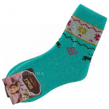 Детские носки из ангорской шерсти 04