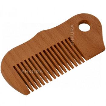 Деревянная расческа Б01