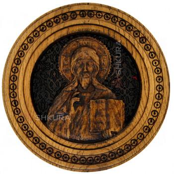 """Резная икона """"Христос Спаситель"""" 26 см"""