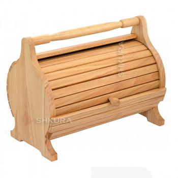 Хлебница деревянная 19, дуб
