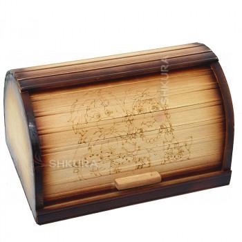 Хлебница деревянная 16