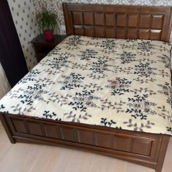 Шерстяное одеяло. Цветы 3
