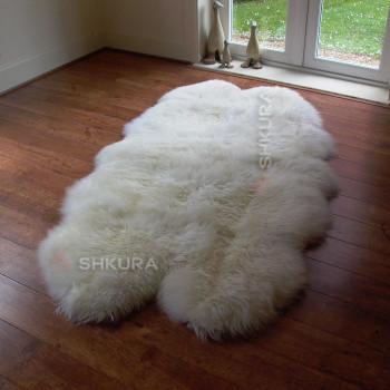 Ковер из 4-х овечьих шкур