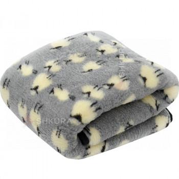 Детское шерстяное одеяло. Овечки