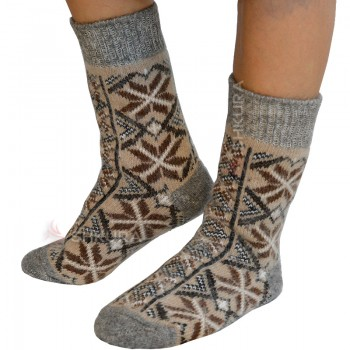 Носки из ангорской шерсти, женские 17
