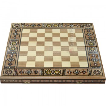 Шахматная доска, 50х50 см. Мозаика