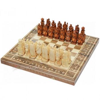 """Шахматы 3 в 1""""Рыцари"""" 50х50 см."""