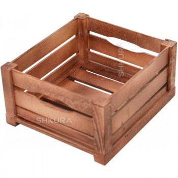 Деревянный ящик 02. Вишня