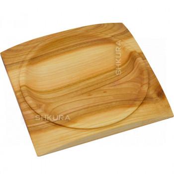 Квадратная тарелка 20х20 см