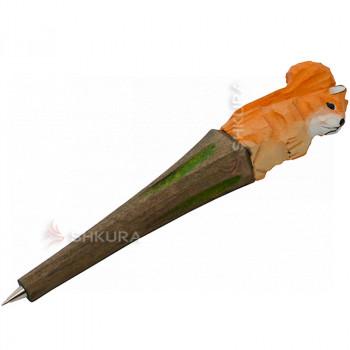 """Деревянная ручка """"Белка"""""""