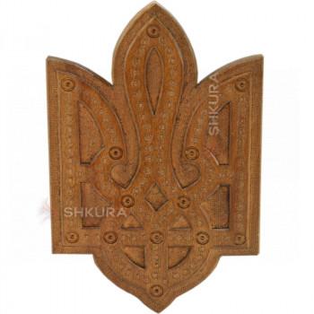 Герб Украины В21, темный