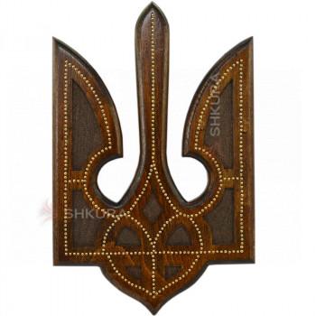 Герб Украины С02, медь