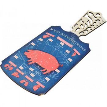 """М'ясо домашніх свиней"" разделочная доска"