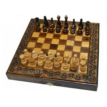 Шахматы + Нарды, 32х32 см
