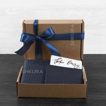 Мужской подарочный набор кожаных аксессуаров Ливерпуль