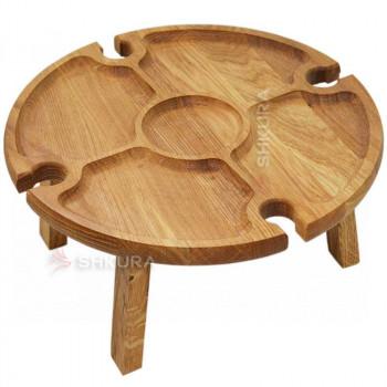 Винный столик М03. Дуб