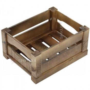 Деревянный ящик 03. Орех
