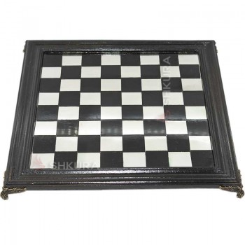Шахматная доска, 40х40 см. Стекло, дерево