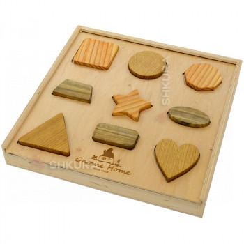 Деревянный сортер. Коробка