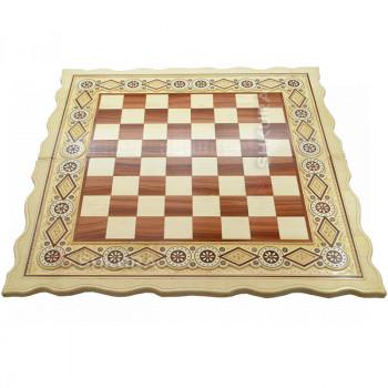 Шахматная доска. 56х56 см. Бисер