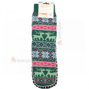 Носки с подошвой, женские 03
