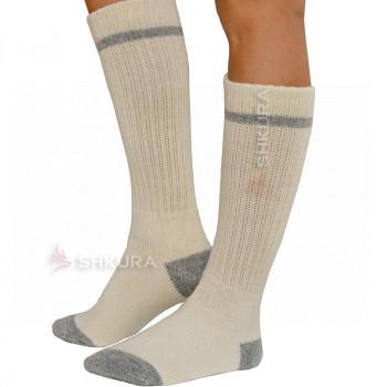 Носки трекинговые, женские, удлиненные 22