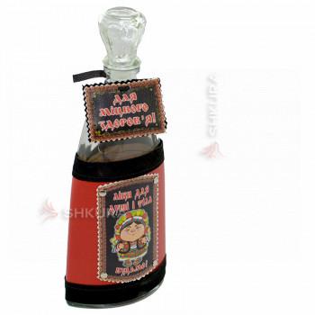 Декоративная бутылка 0,5 л. 77