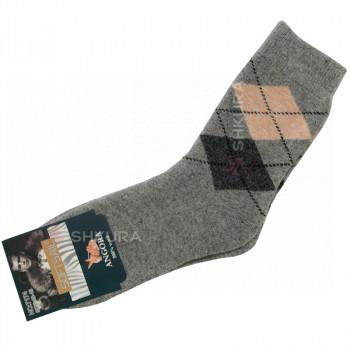 Мужские носки из ангорской шерсти 02