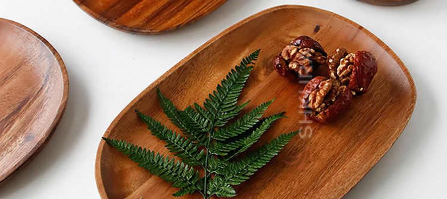 Современная деревянная посуда на Shkura