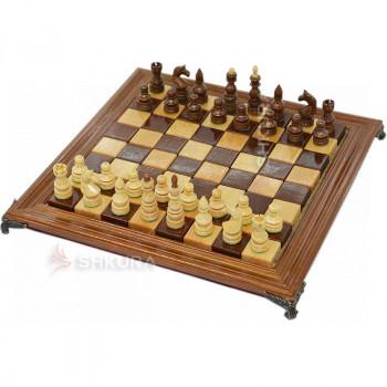 Шахматы 40х40 см. Дерево, светлые