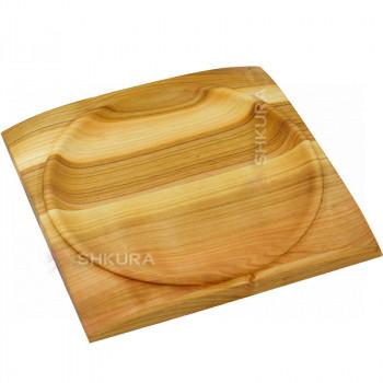 Квадратная тарелка 25х25 см