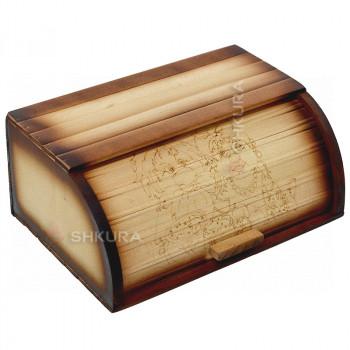 Хлебница деревянная 18