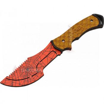 """Деревянный нож """"Мясника"""", цветной"""