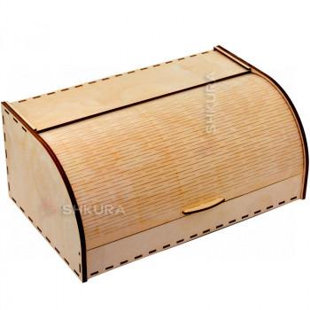 Хлебница деревянная 08