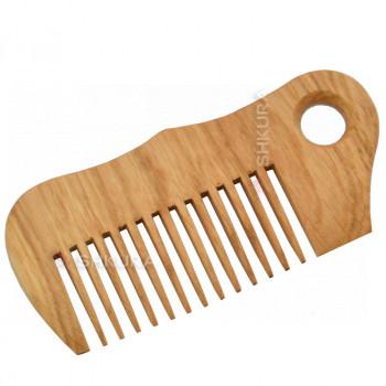 Деревянная расческа Н02