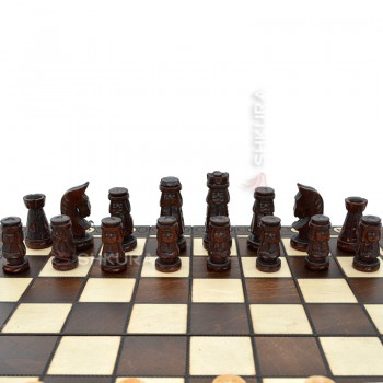 """Шахматные фигуры """"Гуцульские"""""""