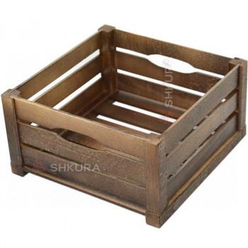 Деревянный ящик 01. Орех