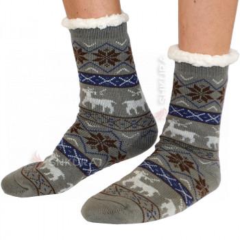 Термо носки с подошвой, мужские 04
