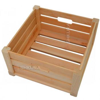 Деревянный ящик 01