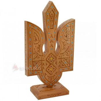 Настольный герб Украины К04