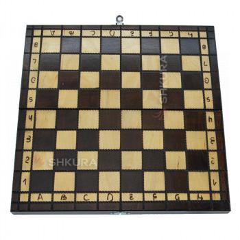 Шахматная доска. 31х31 см