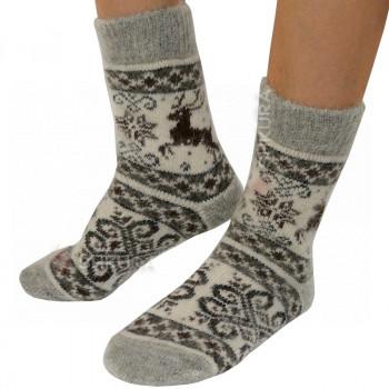 Носки из ангорской шерсти, женские 11