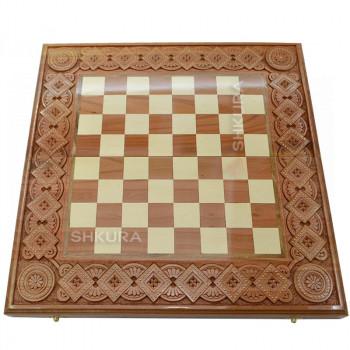 Шахматная доска. 50х50 см. Медь