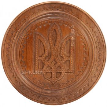 Герб Украины В31, декоративная тарелка