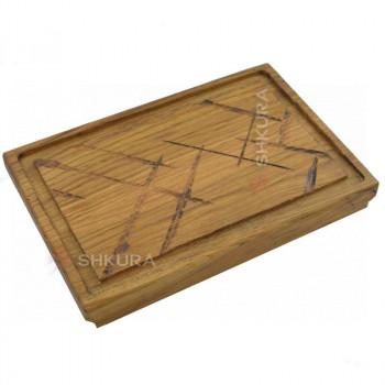 Доска для подачи блюд, прямоугольная