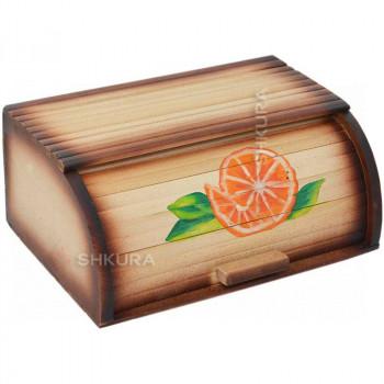 """Хлебница деревянная """"Апельсин"""""""