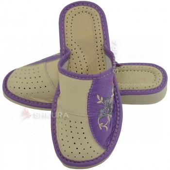 Тапочки женские летние, ШВБ20. Фиолетовые