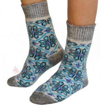 Носки из ангорской шерсти, женские 18