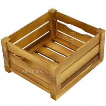 Деревянный ящик 02. Дуб