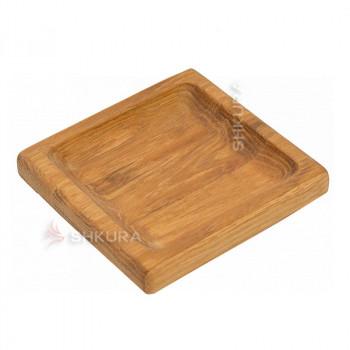 Доска для подачи блюд квадратная. С12